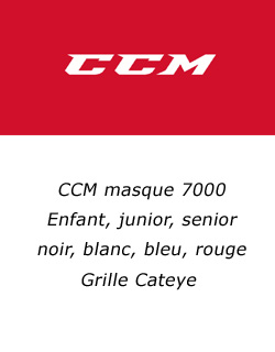 masque de hockey CCM